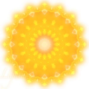 KakuMandala0377_kaleido16 Yellow Sun