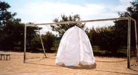 グランドのくらげテント